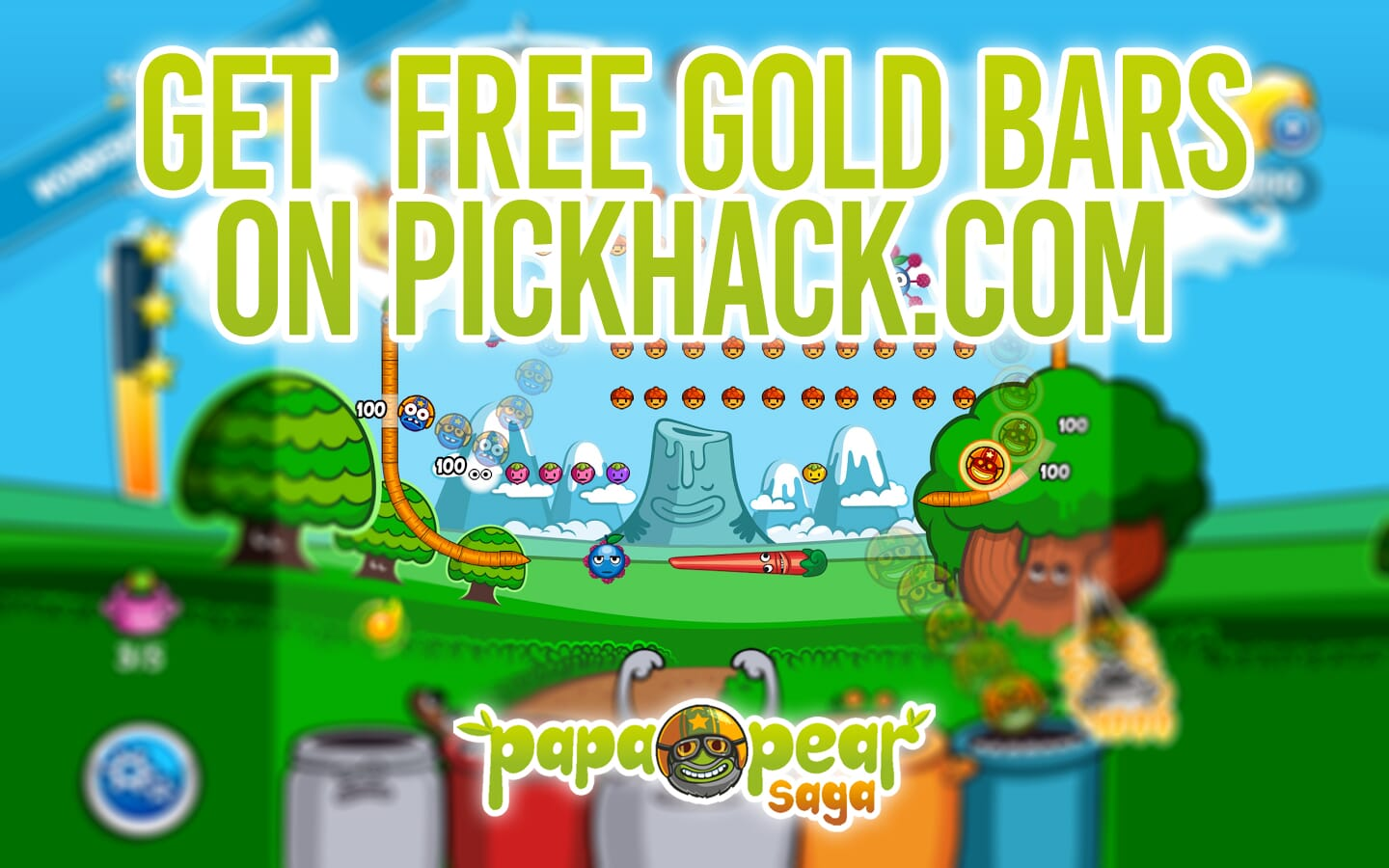 Image currently unavailable. Go to www.generator.pickhack.com and choose Papa Pear Saga image, you will be redirect to Papa Pear Saga Generator site.