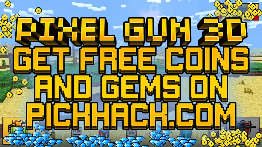 Image currently unavailable. Go to www.generator.pickhack.com and choose Pixel Gun 3D image, you will be redirect to Pixel Gun 3D Generator site.